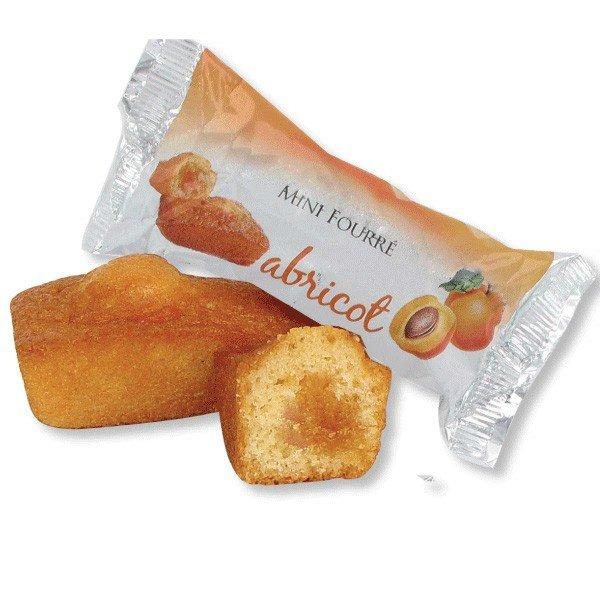 Mini délice fourré abricot