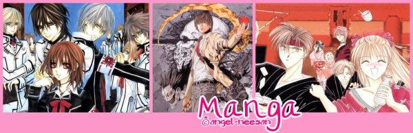 ◇ Mangas/Animes ▶ Présentation des Mangas et des Animes ◀
