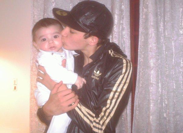 Le petit-frère et moi ;)