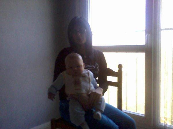 Moi et mon neveu Gregory :)