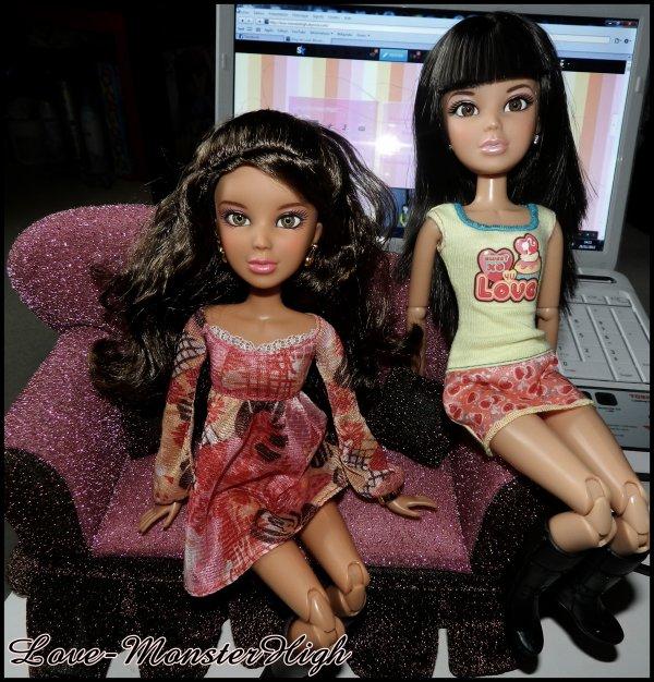 Célia Silvia et Amalia <3