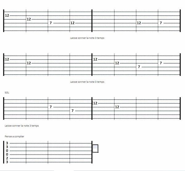(12) 123Tablature-O-blog - Skyrock.com - Méthode de guitare - Exercices avec des harmoniques