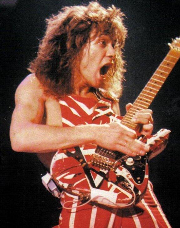 Eddie Van Halen, Eruption, (27), tablature.skyrock.com, Eruption photo, Eruption tablature, Eruption vidéo - Un artiste est un individu faisant (une) ½uvre, cultivant ou maîtrisant un art, un savoir, une technique, et dont on remarque entre autres la créativité, la poésie, l'originalité de sa production, de ses actes, de ses gestes. Ses ½uvres sont source d'émotions, de sentiments, de réflexion, de spiritualité ou de transcendances