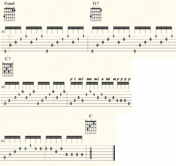 Prélude de Bach, (11), Bach J-S, tablature.skyrock.com, Tablature guitare Prélude de Bach en Do Majeur, Prélude de Bach en Do Majeur vidéo, tablature guitare Prélude de Bach autre version