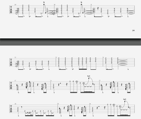 (39) Tablature - skyrock.com - Back in Black - AC/DC - Bande son - Cours de guitare - Pour voir la tablature clic sur le + à droite puis dans le menu sur Paroles (2013)