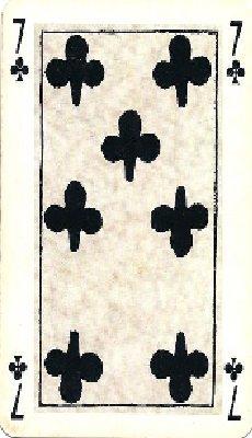 (66) 123Tablature-O-blog - skyrock.com : Tour de cartes - Sept de trèfle
