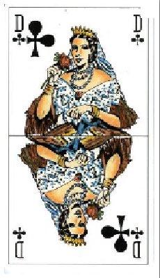 Dame de trefle - médicament révolutionnaire - tour de carte