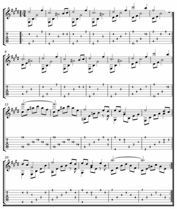 Jeu de console - Zelda's Lullaby tablature guitare - Zelda's Lullaby, (120), Jeu de console, Zelda's Lullaby tablature guitare,, Zelda's Lullaby photo