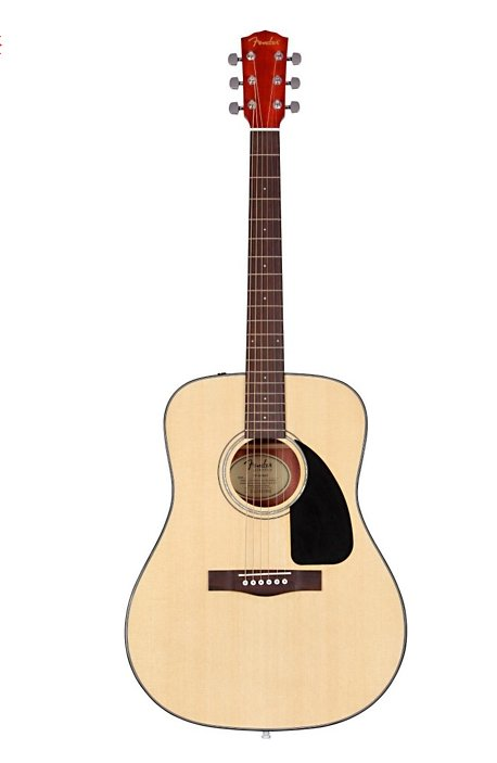 (139) Guitare accoustique - entrée-milieu de gamme :