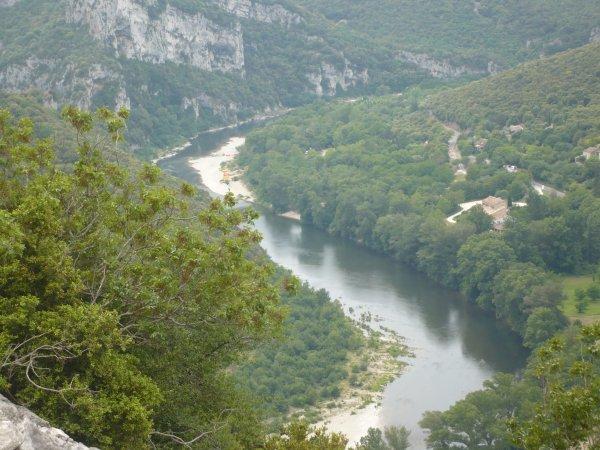 (164) Mes balades - Vues des gorges de l'Ardèche