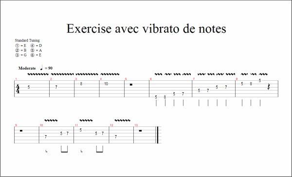 (179) Méthode de guitare - Vibrato main gauche