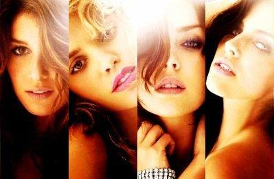 Les filles de la série