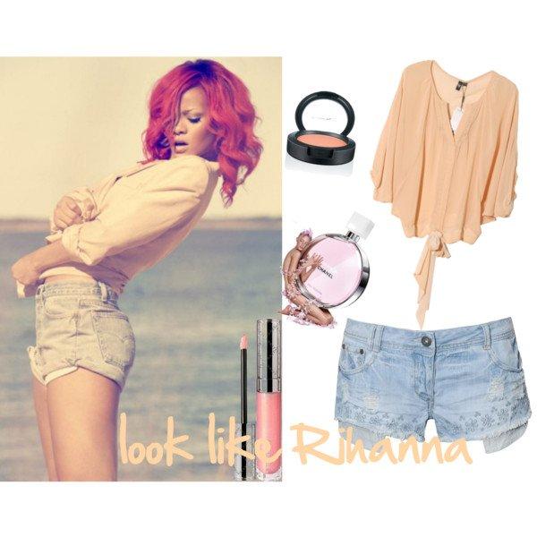 tenue Rihanna