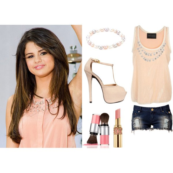 tenue Selena Gomez