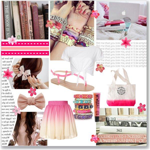 Tenue pink été !