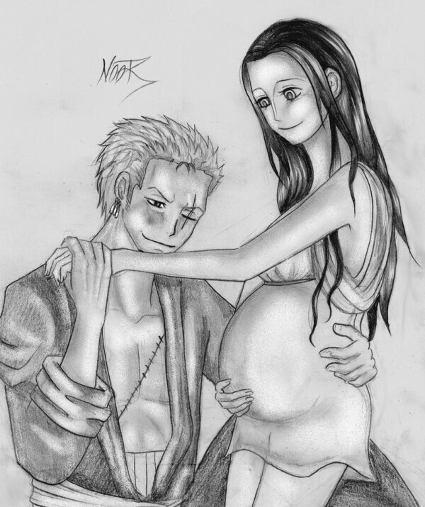 Notre chère robin ( notre chef ) est enceinte