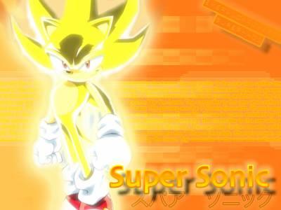 fond d'ecran super sonic - come into my world