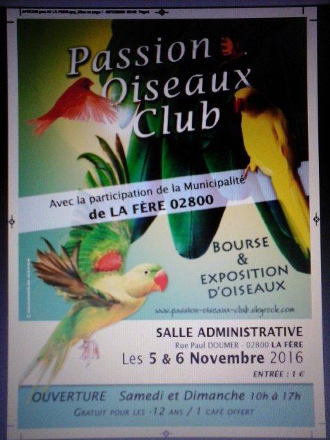 Bourse & exposition d'oiseaux