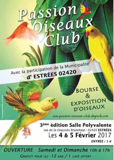 Bourse & Exposition d'oiseaux.