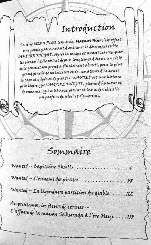 Wanted - chapitre 1: Capitaine Skulls