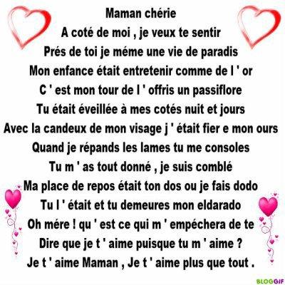 Proverbe Damour Pour Sa Maman Des Poeme Pour Maman