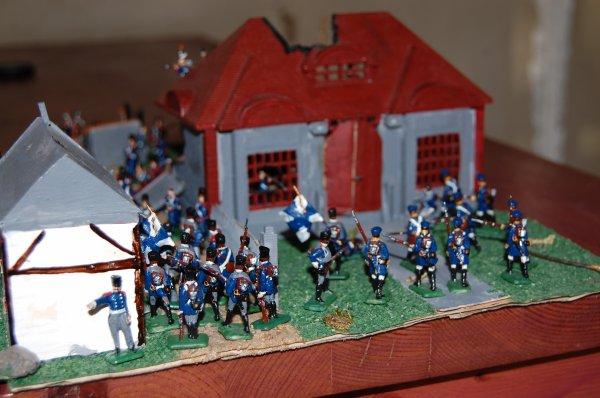 les prussiens montent à l'assaut
