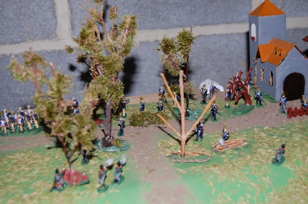 Combat entre tirailleurs