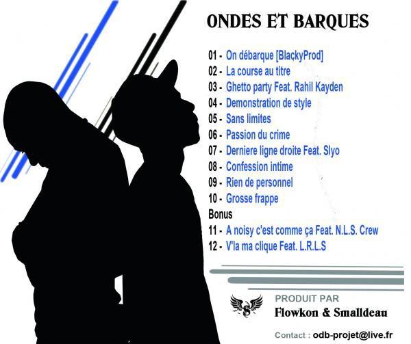 LA COVER DU PROJET + LA TRACKLIST !!!