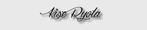 ► Ryota Kise ◄