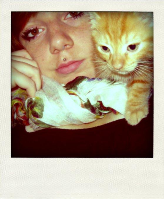 Ma faaaaaaaaaaaaaaaaaaaaaaaaaaaaaaaace& mon baby cat !