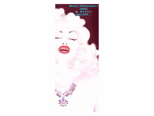 MARILYN MONROE -NEW DIAMONDS -BY MOKTAR