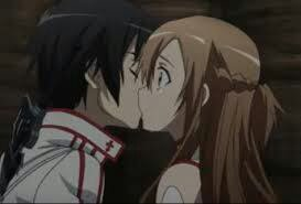 Kiss ~~~ Asuna♥Kirito