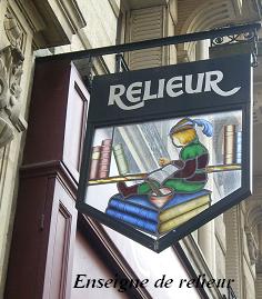 Arts graphiques _ Relieur