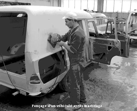 Travail des métaux _ Carrosserie (réparation)