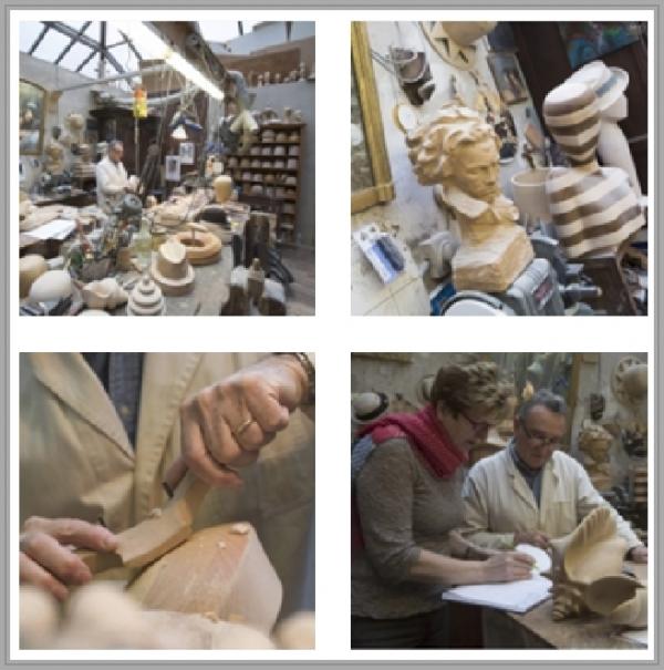 Lorenzo Ré, Sculpteur de chapeaux