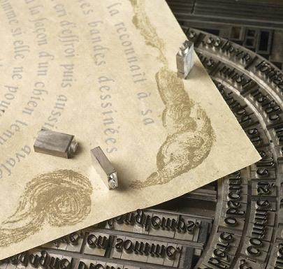 METIERS DU SECTEUR : ARTS GRAPHIQUES _ IMPRIMEUR EN TYPOGRAPHIE