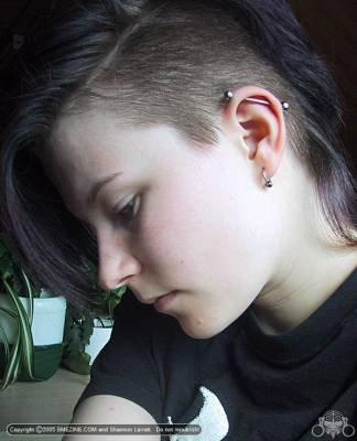piercing: industriel