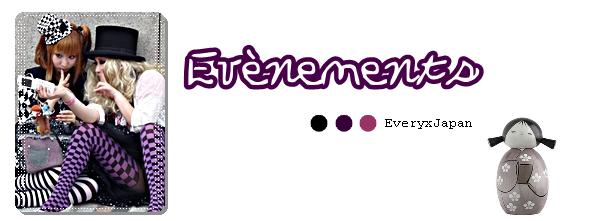 #05 _✖. Evènements .______________________________________
