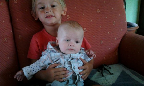 Mes  trois Amours  !!!!     Lorenzo , Ethan et Oyhana  <3