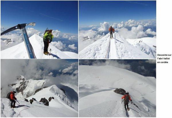 Mont Blanc, 15 août 2016
