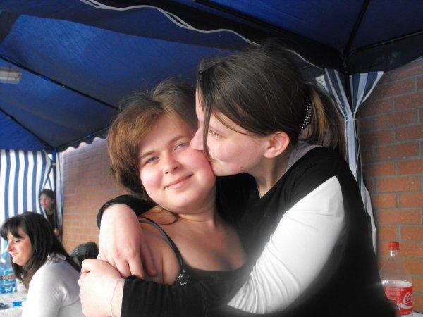 voici moi et ma soeur cherie