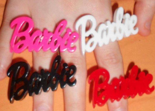 bague barbie