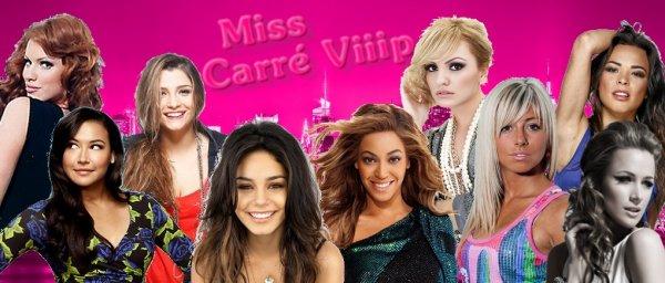 Activité 7 - Miss et Mister Carré Viiip