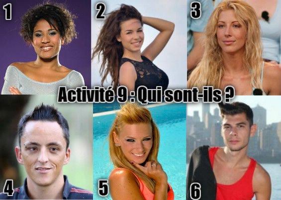 Activité 9 - Qui sont-ils ?