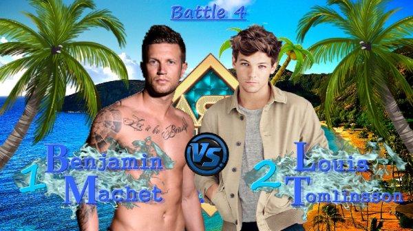 Battle 4 - Benjamin VS Louis