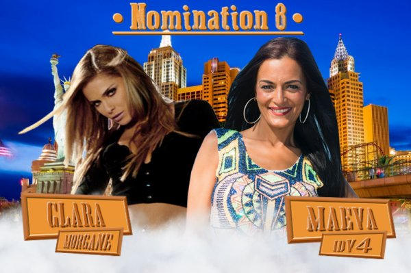 ~ Nomination 8 : Clara Morgane VS Maeva ~