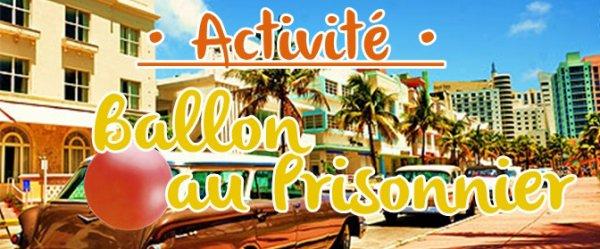 • Activité n°3 : Ballon au prisonnier •