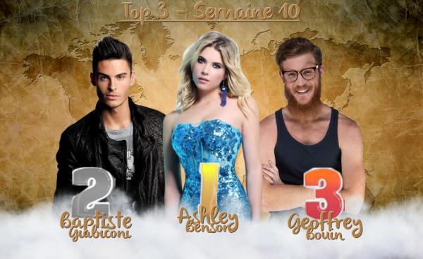 • Top 3 : Semaine 10 •
