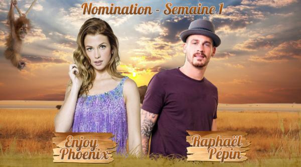 • Nomination 1 : Enjoy VS Raphaël •