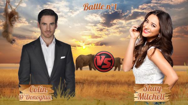 • Battle n°1 : Colin VS Shay •